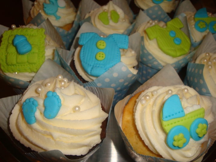 Baby Shower Lime & Blue