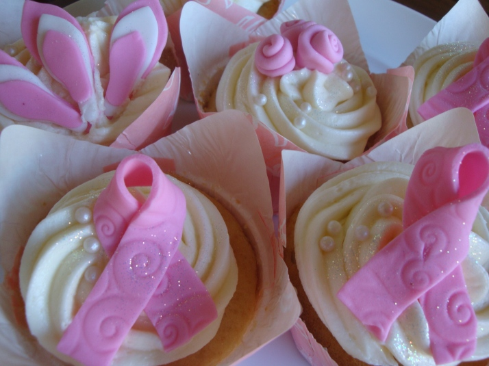 Breast Cancer Awareness Cupcakes
