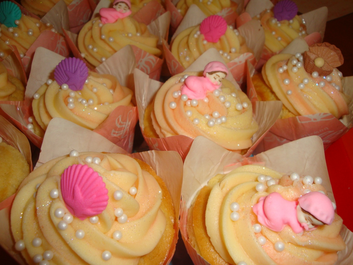 baby shower cupcakes for a girl cupcakes2delite