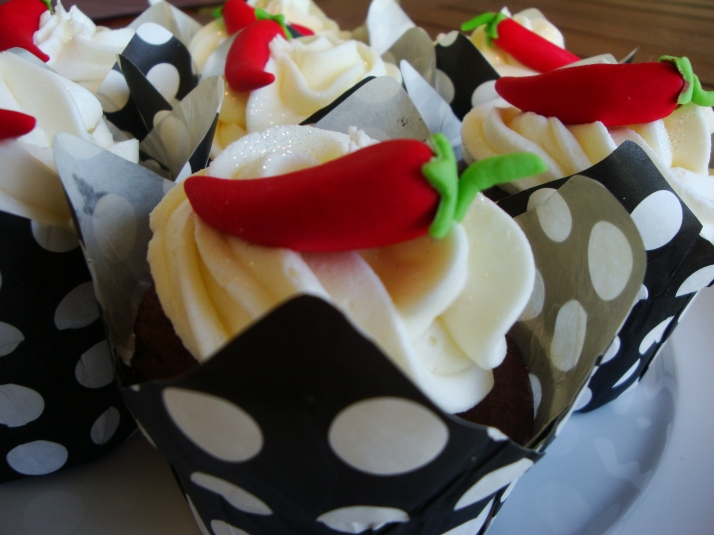 Mexican Chili Cupcakes