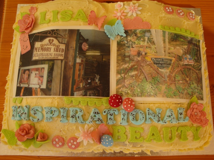 Birthday Cake for  a Scrapbooker