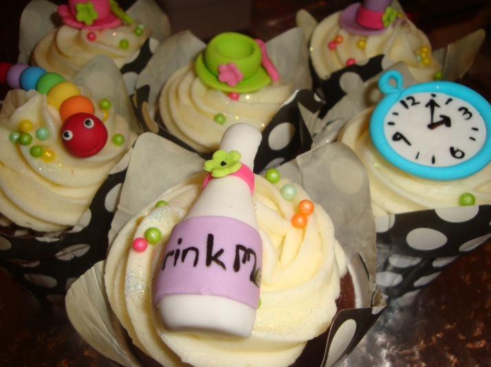 Cupcakes for Mad Hatters Party