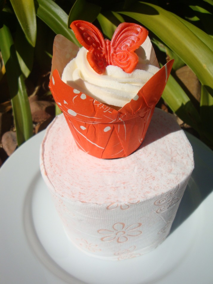 Twinsaver Toilet Roll Spring Cupcake