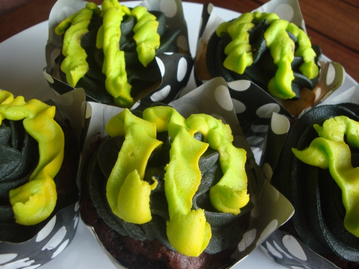 Cupcakes for Bikers - Monster