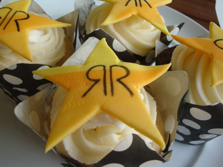 Cupcakes for Bikers - Rock Star