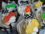Racing/Go-Karting Cupcakes