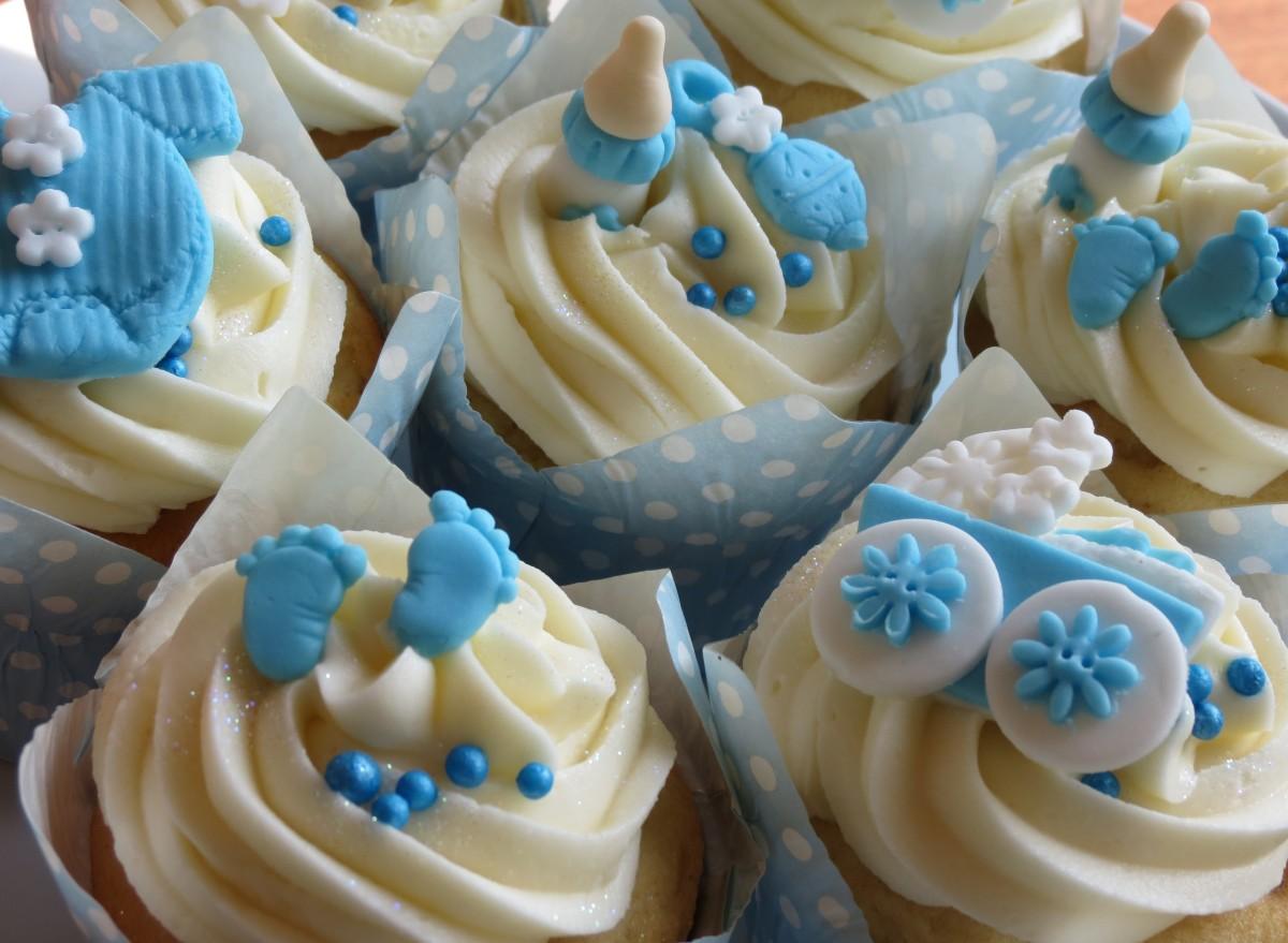 baby shower boy cupcakes cupcakes2delite