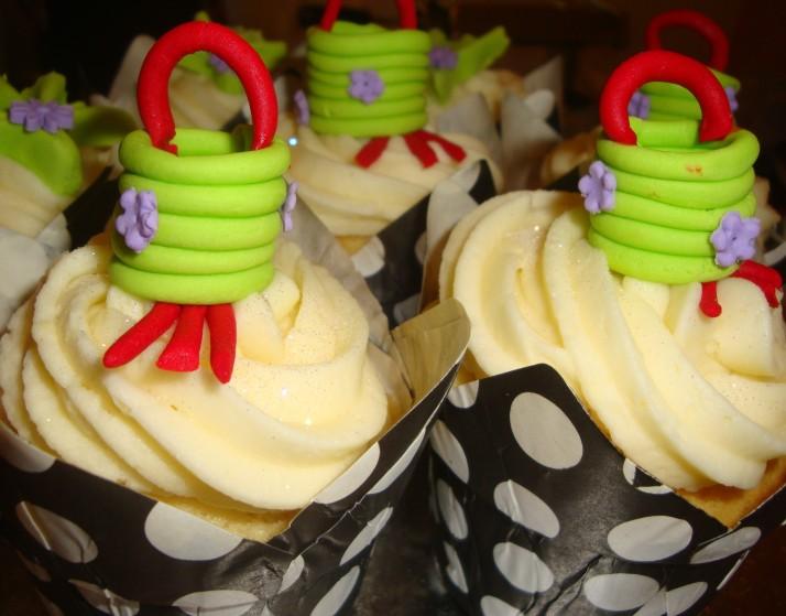 Chinese Cupcakes - Lanterns