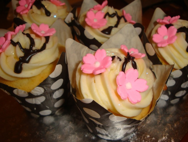 Chinese Cupcakes - Blossoms