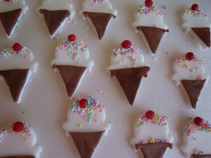 Ice-cream Cupcake Sugar Art