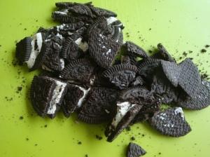 Oreo's for Oreo Cupcakes