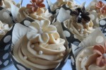 Creamy Coffee & White Chocolate Cupcakes