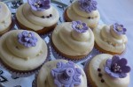 Lavender Wedding Cupcakes