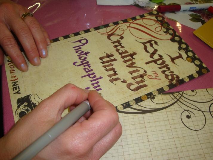 Creative Calligraphy Hands