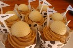 Geldhof Chocolate Golf Ball Cupcakes
