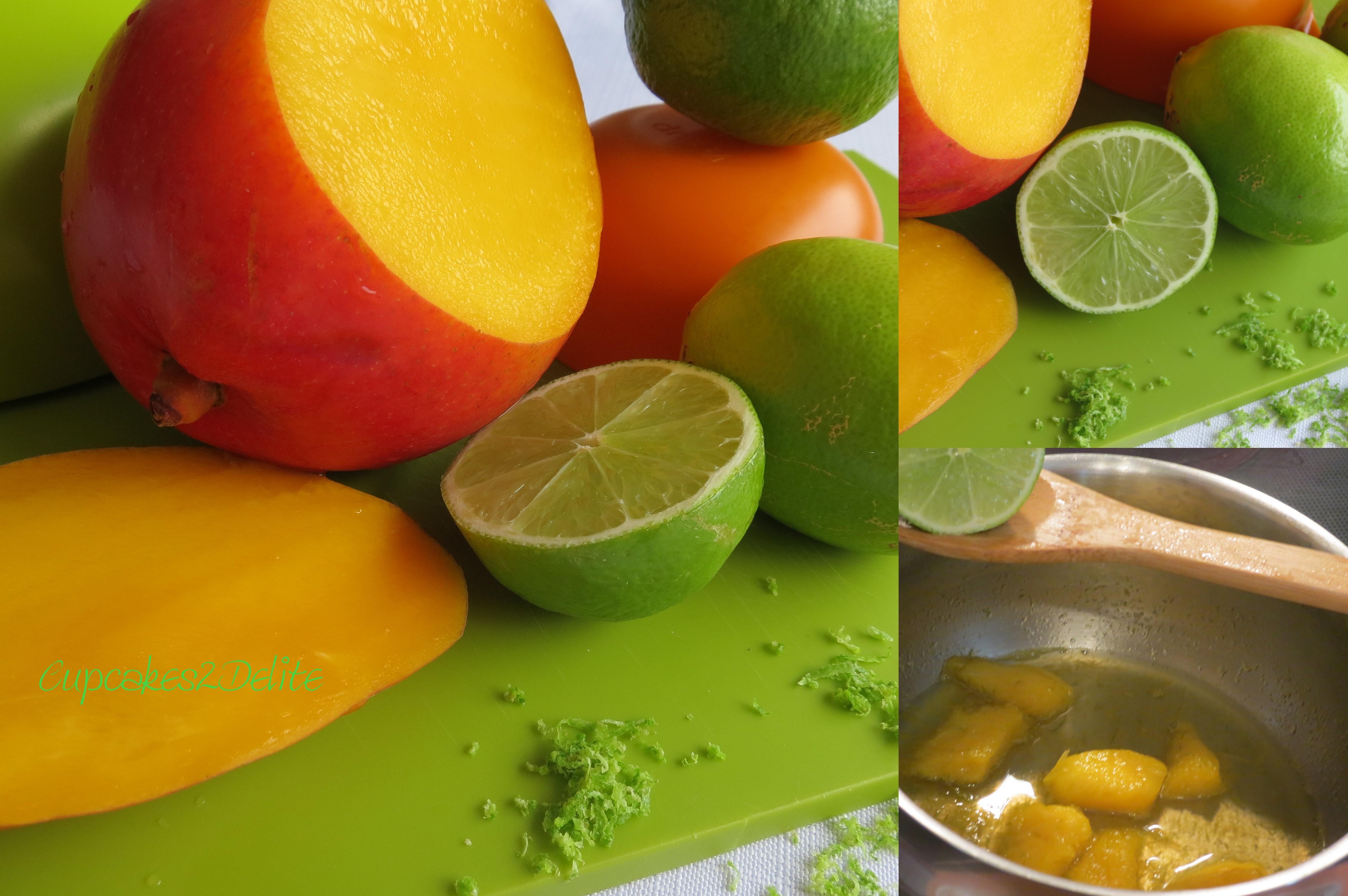 White Key Tag >> Key Lime and Mango Cupcakes | cupcakes2delite
