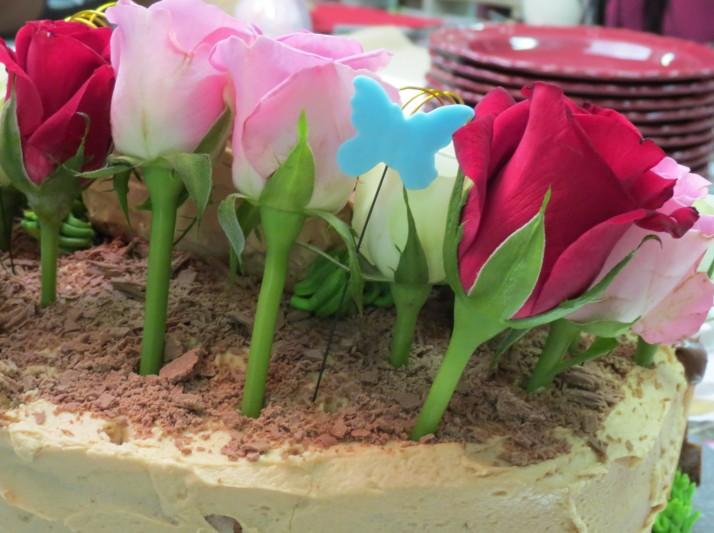 Garden Birthday Cake