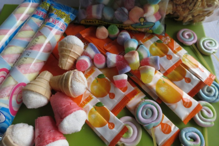 Candyland Cupcake Decorations
