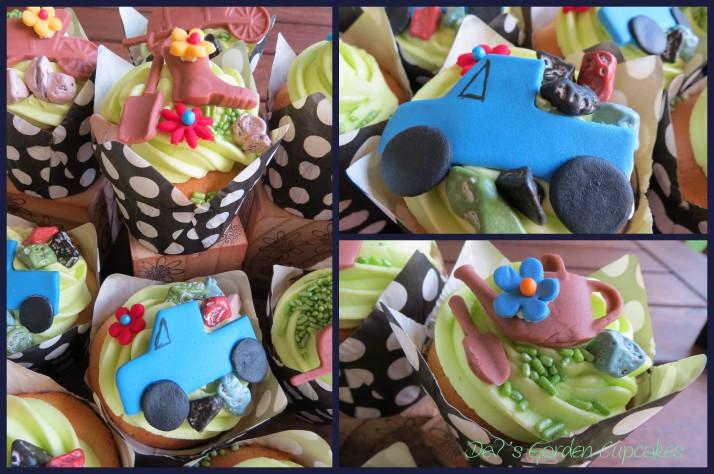 Garden Theme Cupcakes