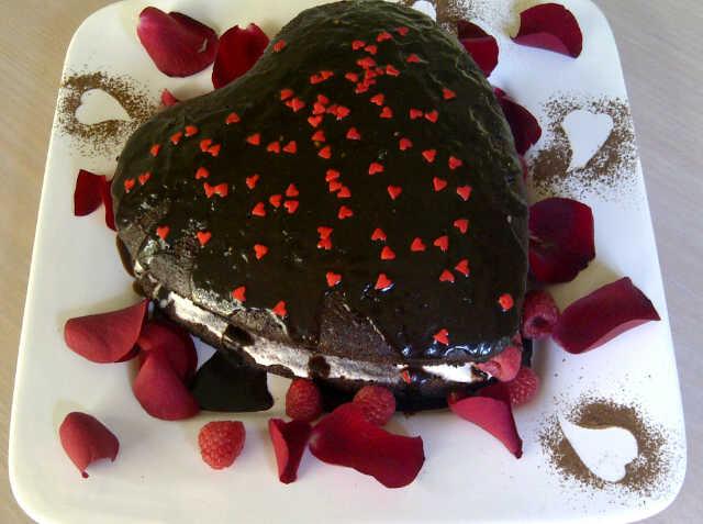 Paige's Valentine Cake