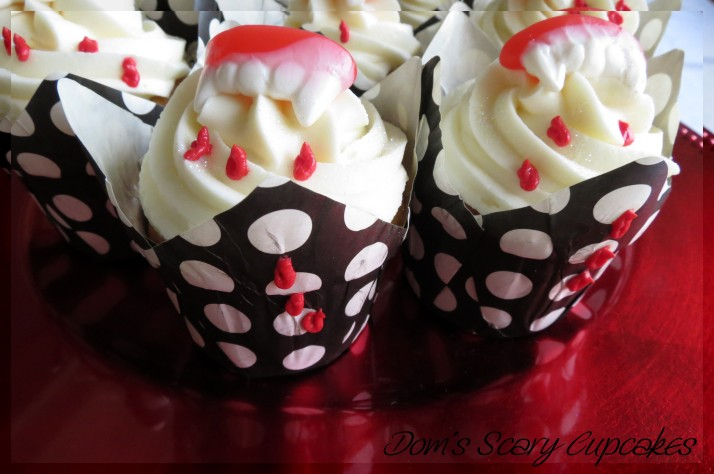 Scary Party Cupcakes
