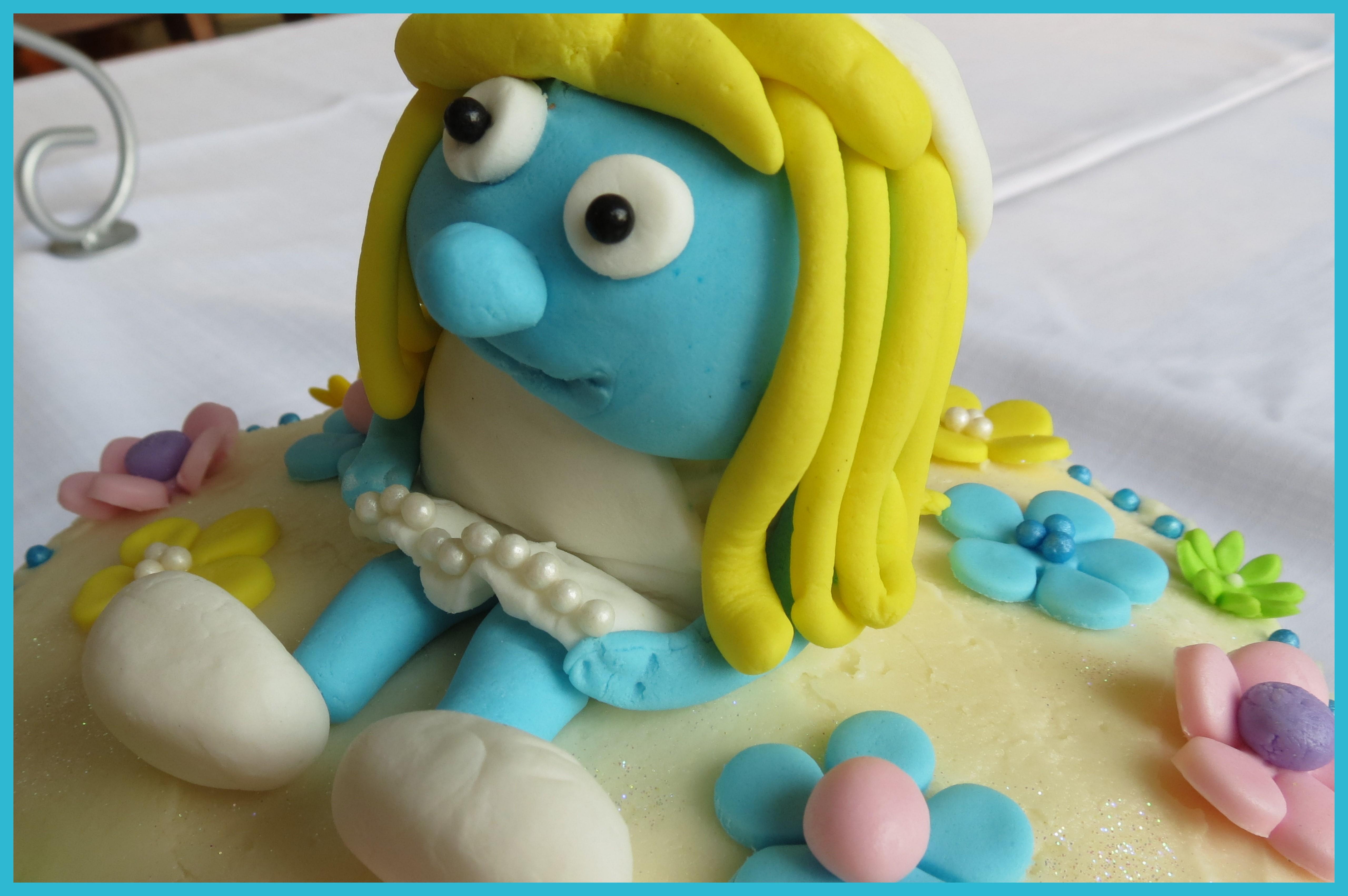 Smurf Cupcakes Cupcakes2delite