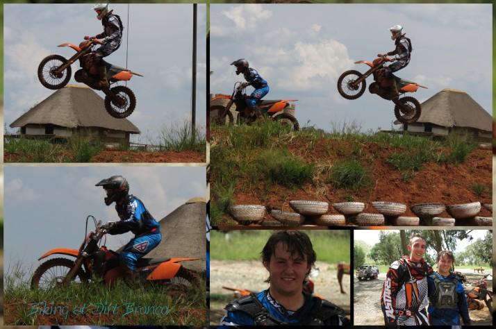 Teigh & Jason Biking