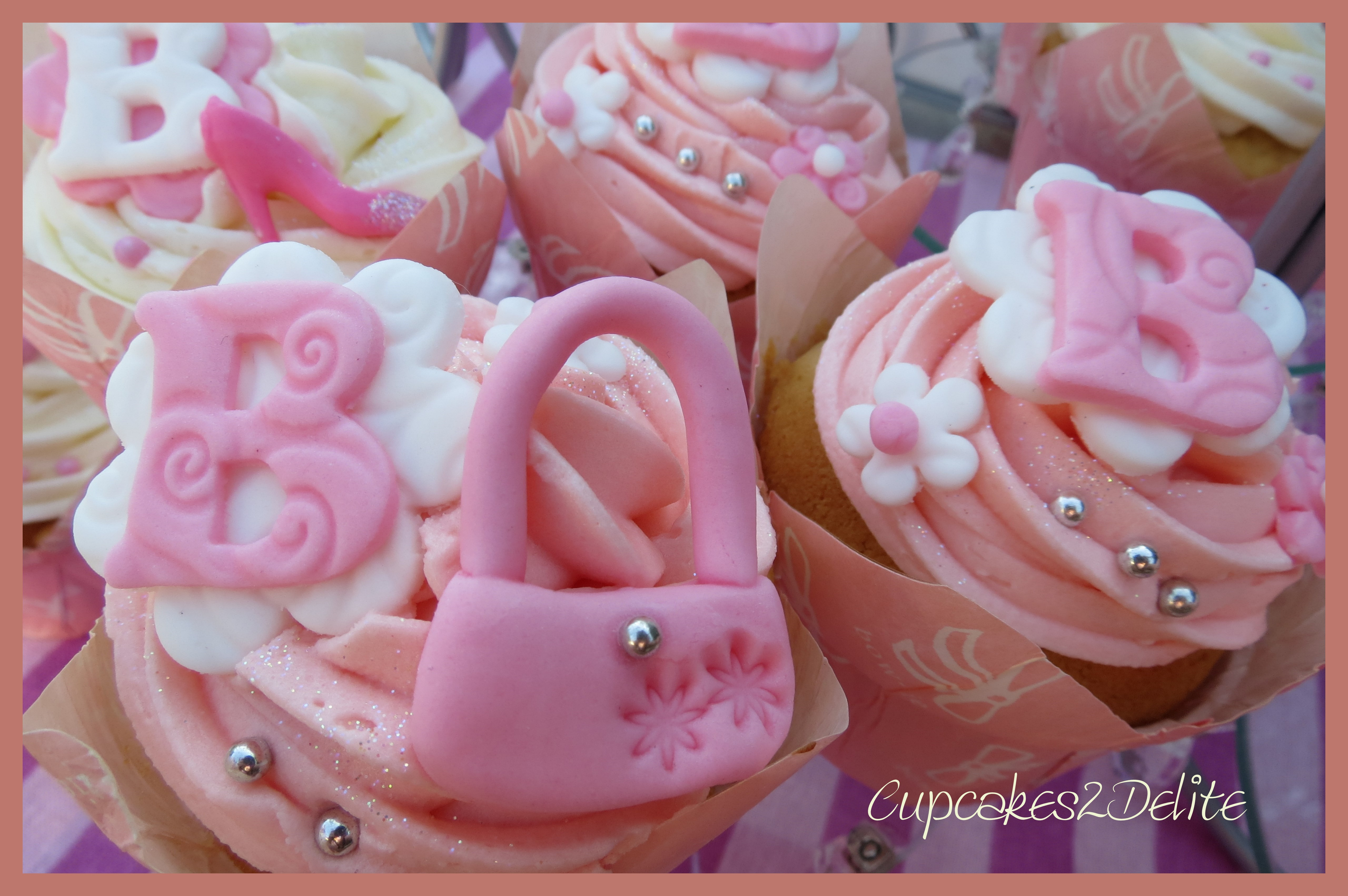 Cupcake And Cake Collage