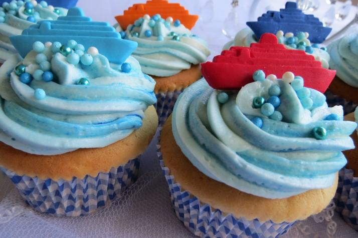 Ship & Yacht Cupcakes