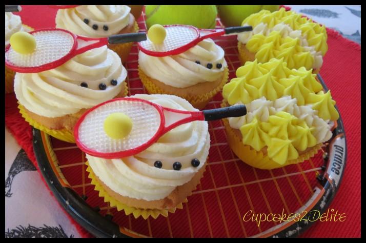 Tennis Cupcakes
