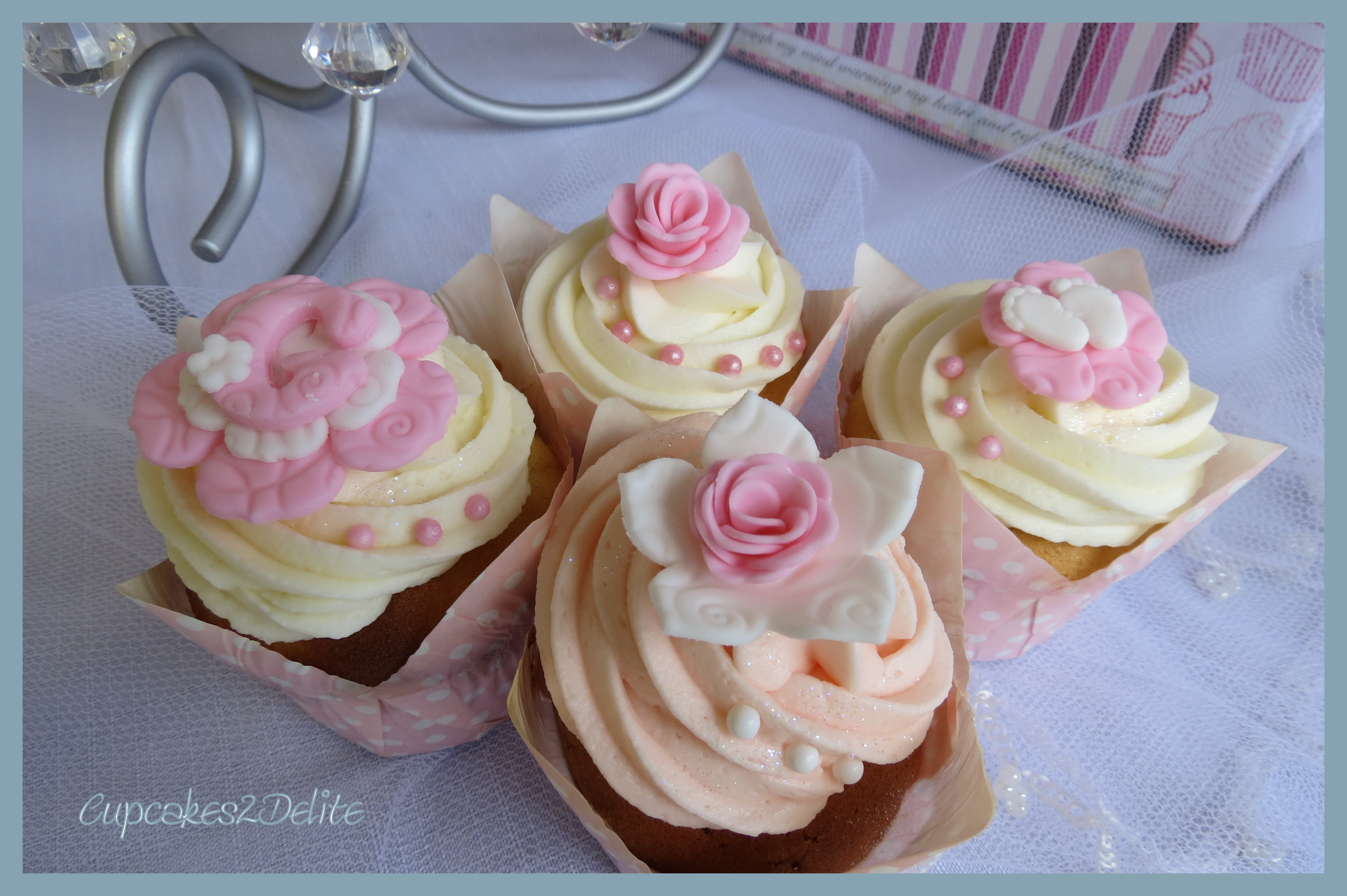 Cupcakes For A Baby Girl
