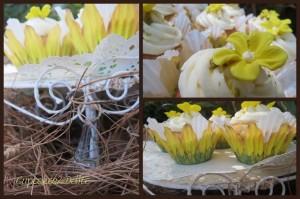 Honey & Pistachio Cupcakes