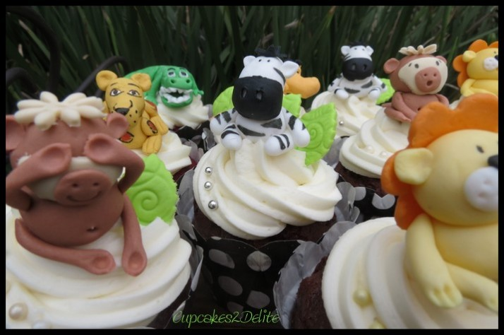 Walk on the Wild Side Cupcakes
