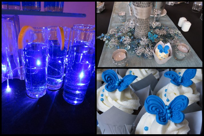 Th Birthday Cupcakes Cupcakesdelite - Table decoration ideas for 18th birthday