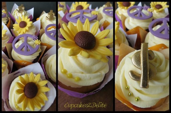 Hippie & Millionaire Cupcakes
