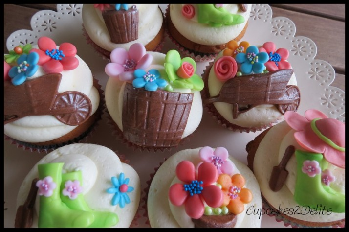 Cupcakes for a Gardener