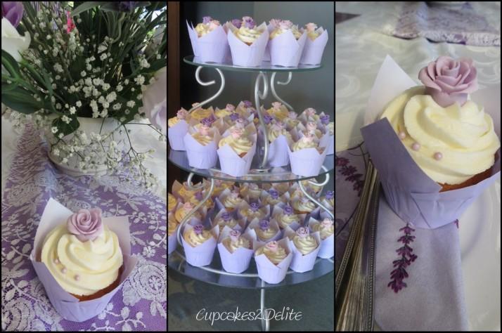 Lavender & Lace Cupcakes