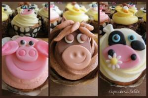 Farmyard Cupcakes
