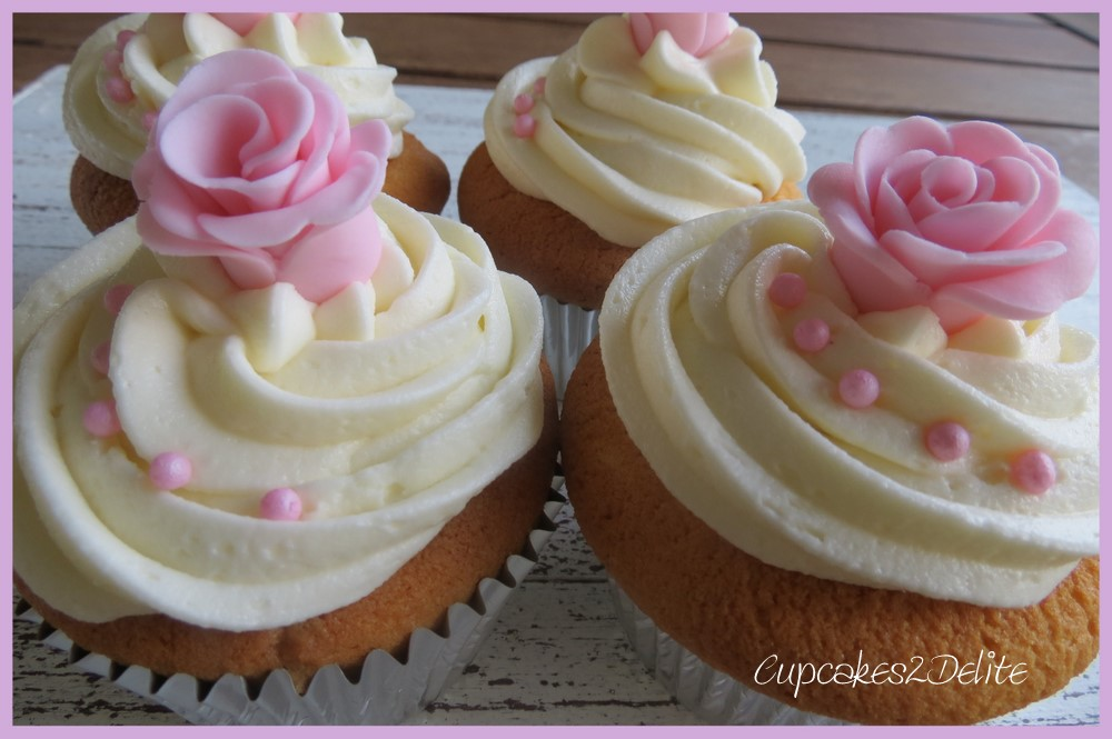 Pink Rose Cupcake | www.imgkid.com - The Image Kid Has It!