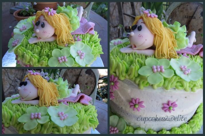 Green Fairy Cake