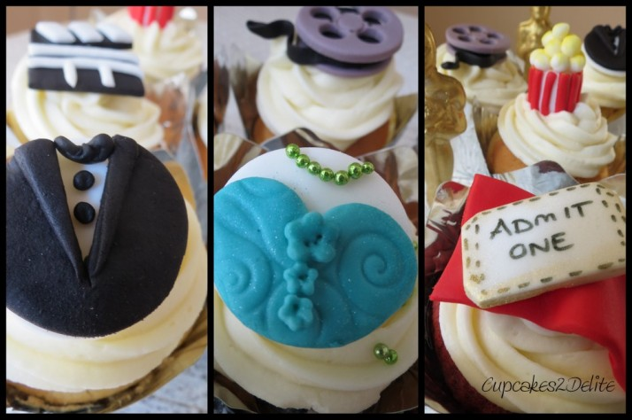 Oscars Cupcakes