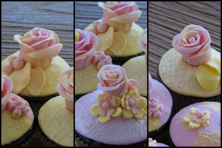 Whimsical Wedding Cupcakes