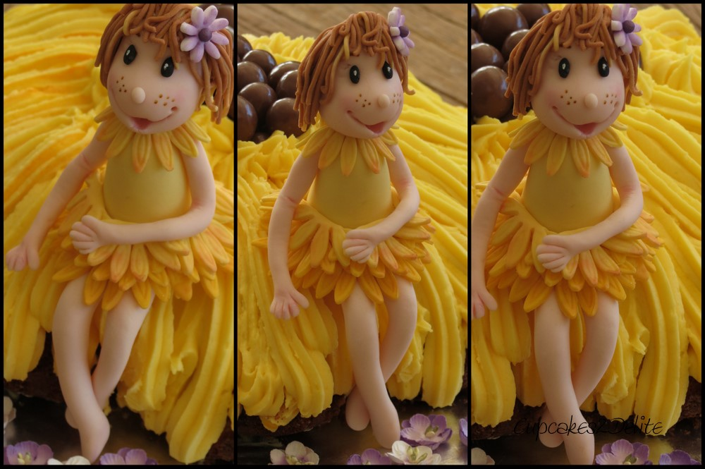 Sunflower Fairy Cake