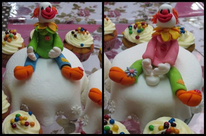Clown Cakes