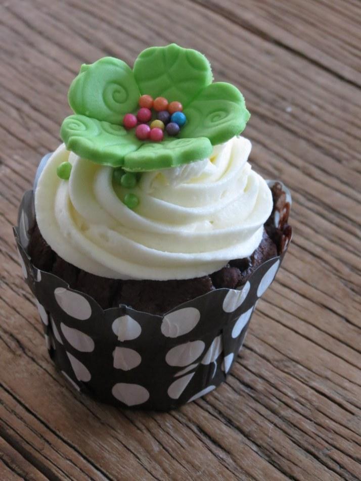 Funky flower Cupcakes