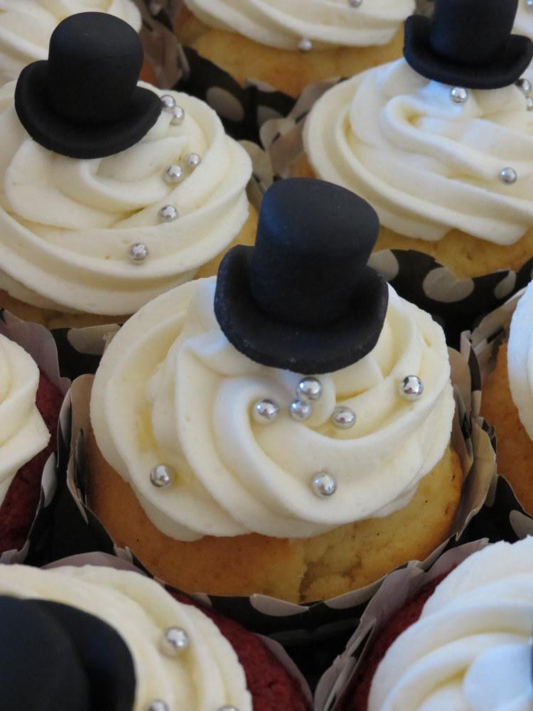 Top Hat Cupcakes Cupcakes2delite