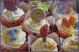 Funfair Extravaganza Cupcakes
