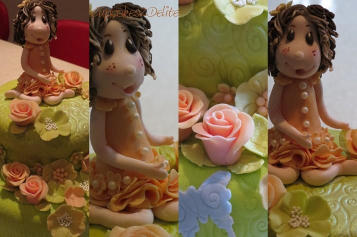 Garden Fairy Cake