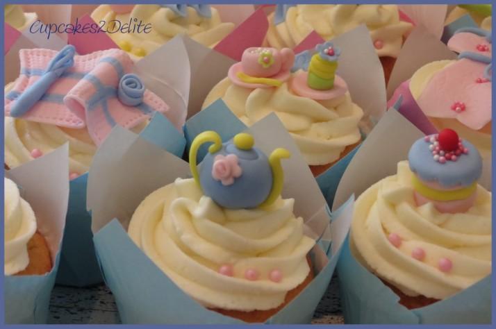 Kitchen Tea Cupcakes