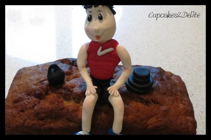 Bodybuilder Sugar Art